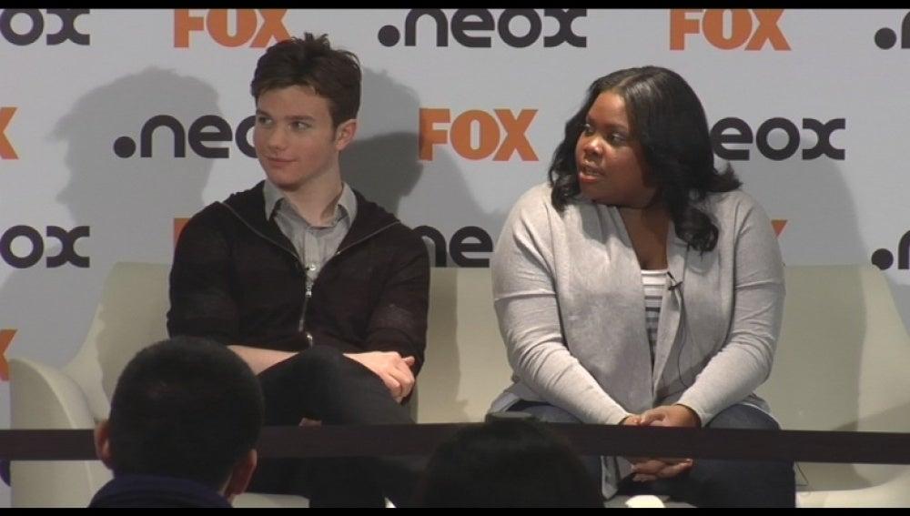 Evento fan con los actores de Glee - Parte 3