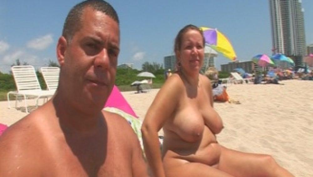 La playa nudista de Miami
