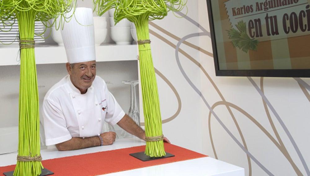 Karlos Arguiñano cocina para Matías Prats