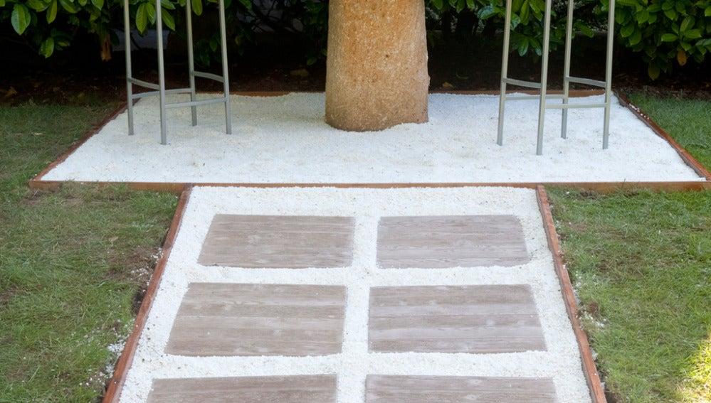 Bricomanía: Sendero para el jardín