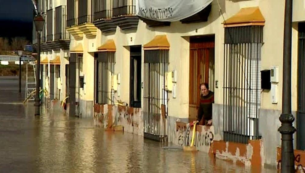 Inundación en Lora del Río