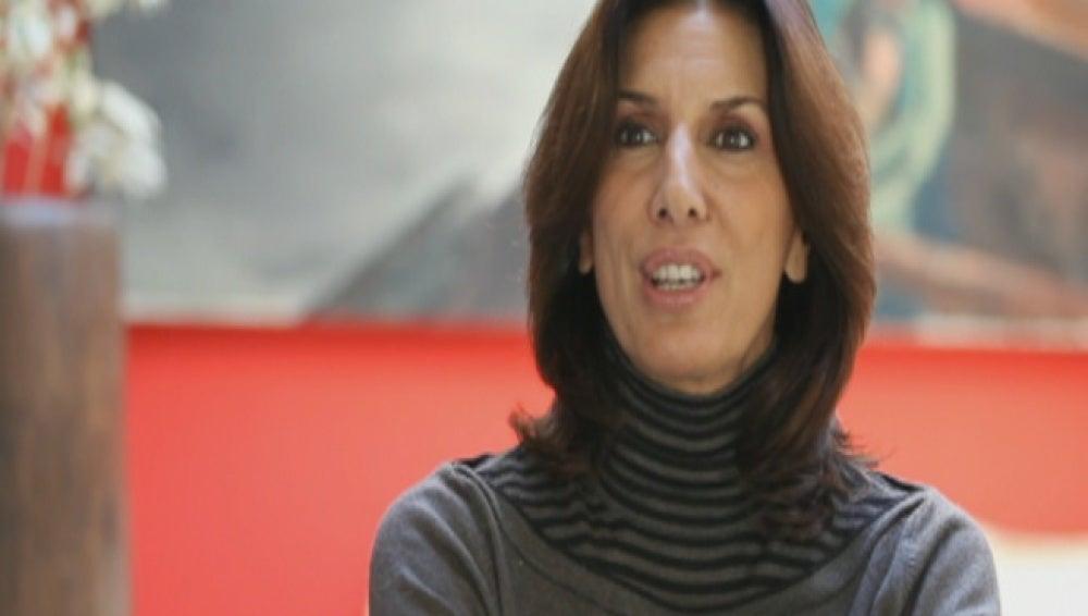 Pastora Vega invitada de Karlos Arguiñano en tu cocina