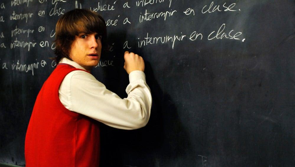 Lucas, el guapo adolescente