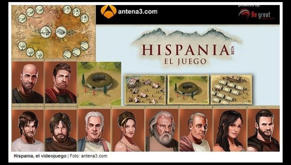 Hispania, el Juego
