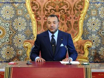 El rey Mohamed VI en Marruecos