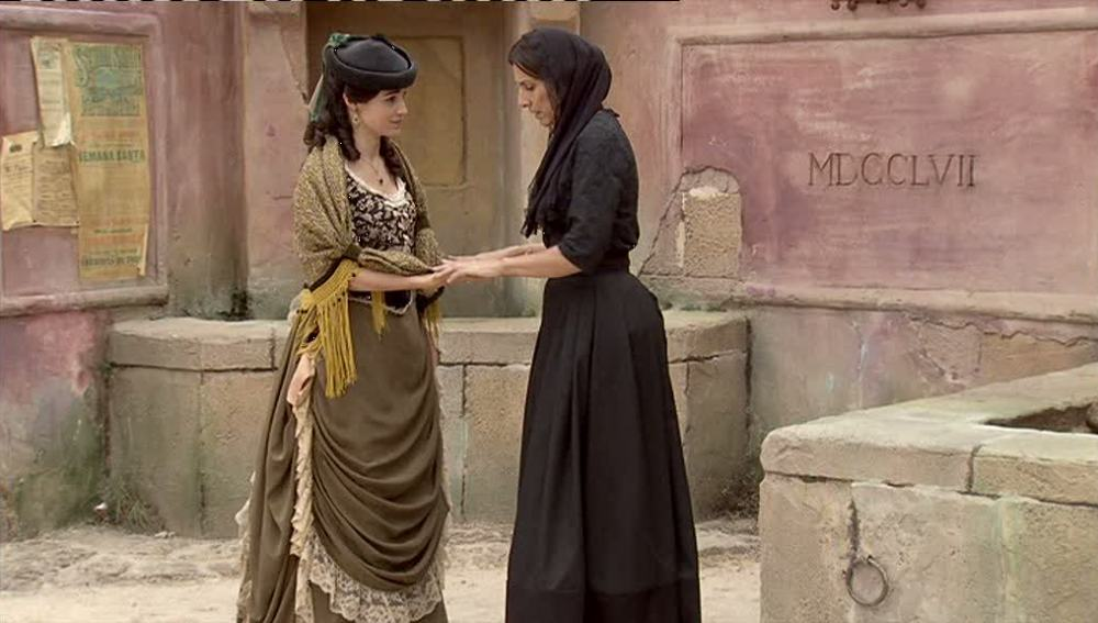 Eugenia le desvela a Carmen que conoce su historia de amor con Germán