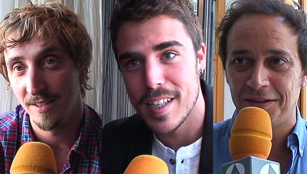 Iván Massagué, Javier Hernández y Luis Callejo