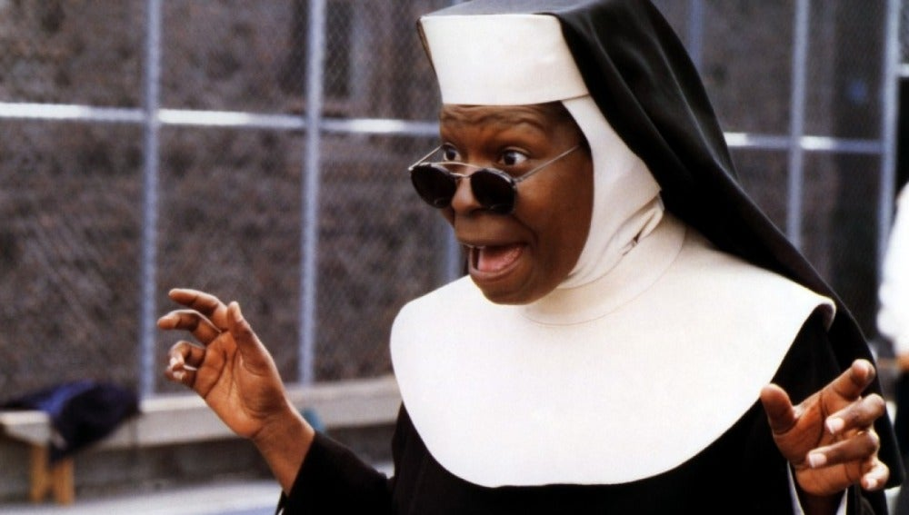 Whoopi Goldberg, protagonista de Sister Act