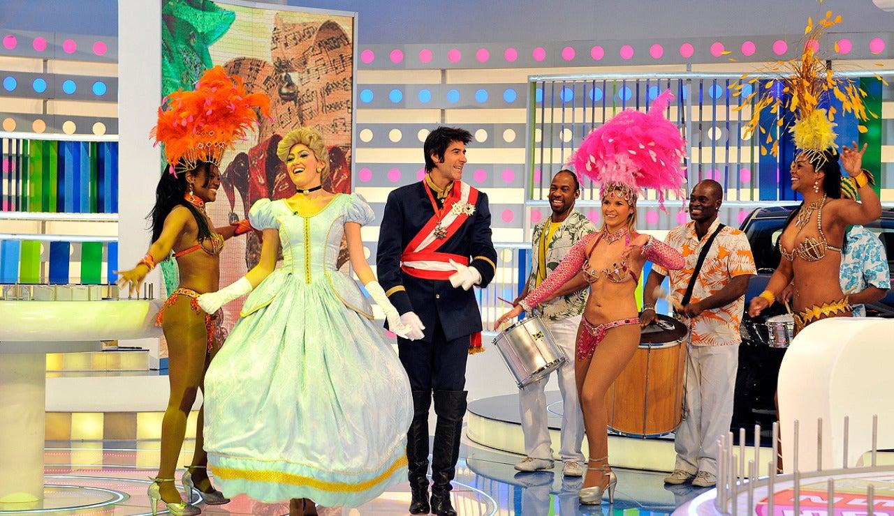 Llega el carnaval a La Ruleta de la Suerte