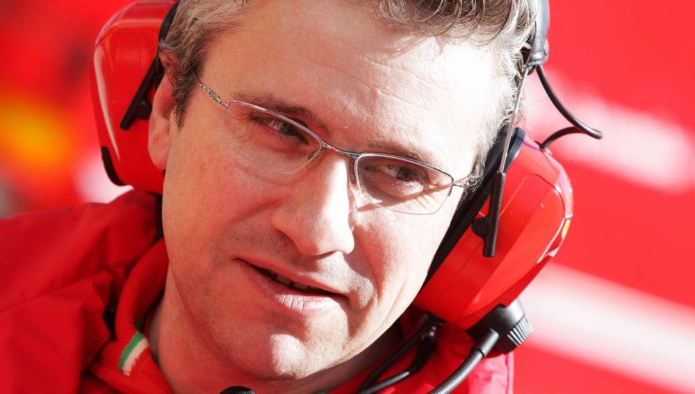 Pat Fry, director técnico de Ferrari