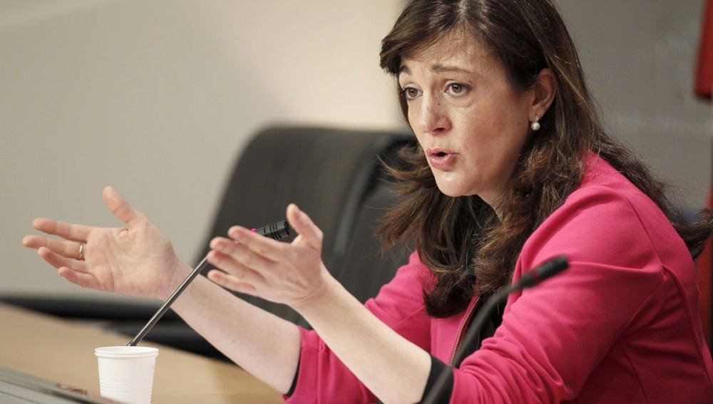 Soraya Rodríguez, portavoz del Grupo Parlamentario Socialista