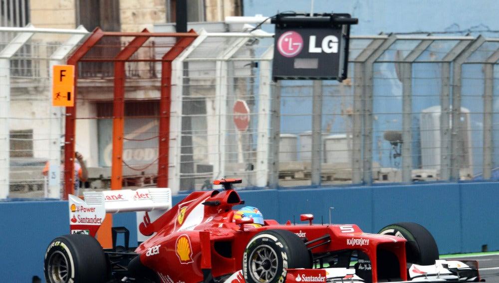 Alonso rueda en los Libres 1