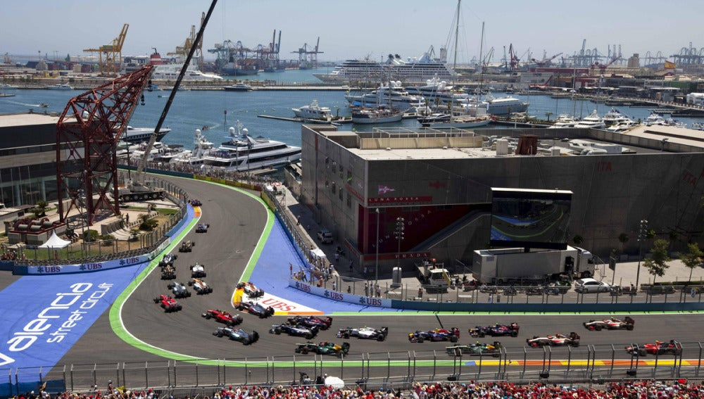 El circuito de Valencia