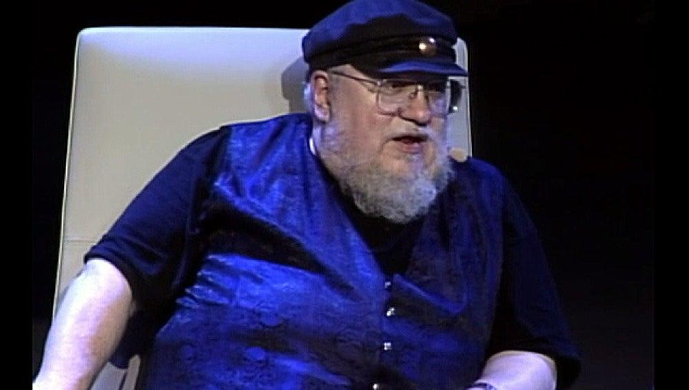 George R. R Martin, escritor de 'Juego de Tronos'