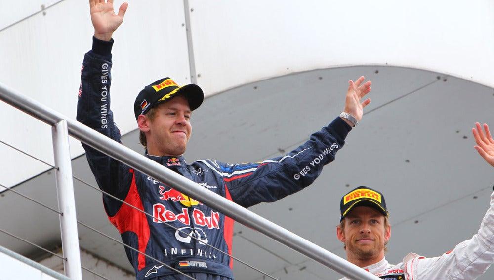 Vettel tras la carrera en Alemania