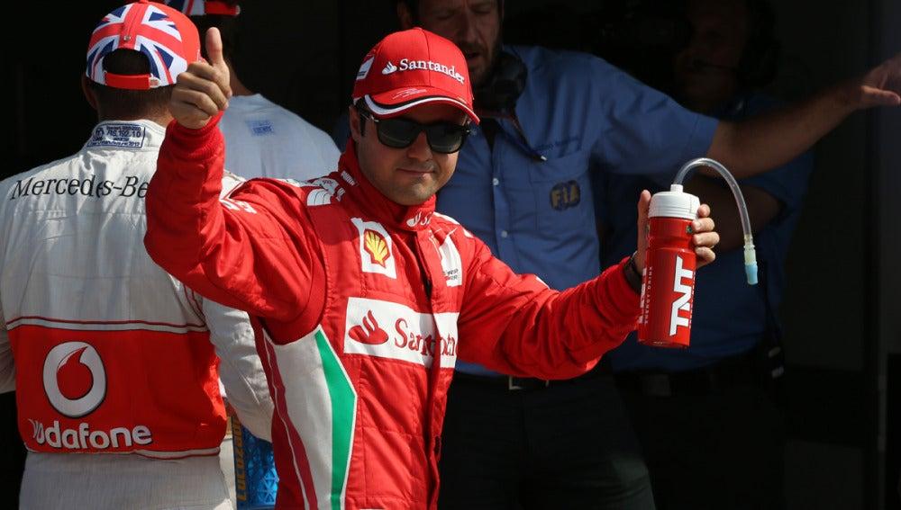 Felipe Massa da el O.K.