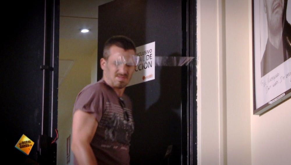 Mánda tu cámara oculta del celo en la puerta