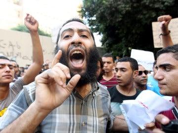 Protestas en El Cairo contra EEUU