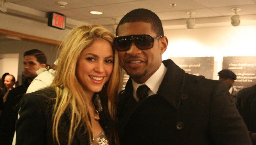 Shakira y Usher