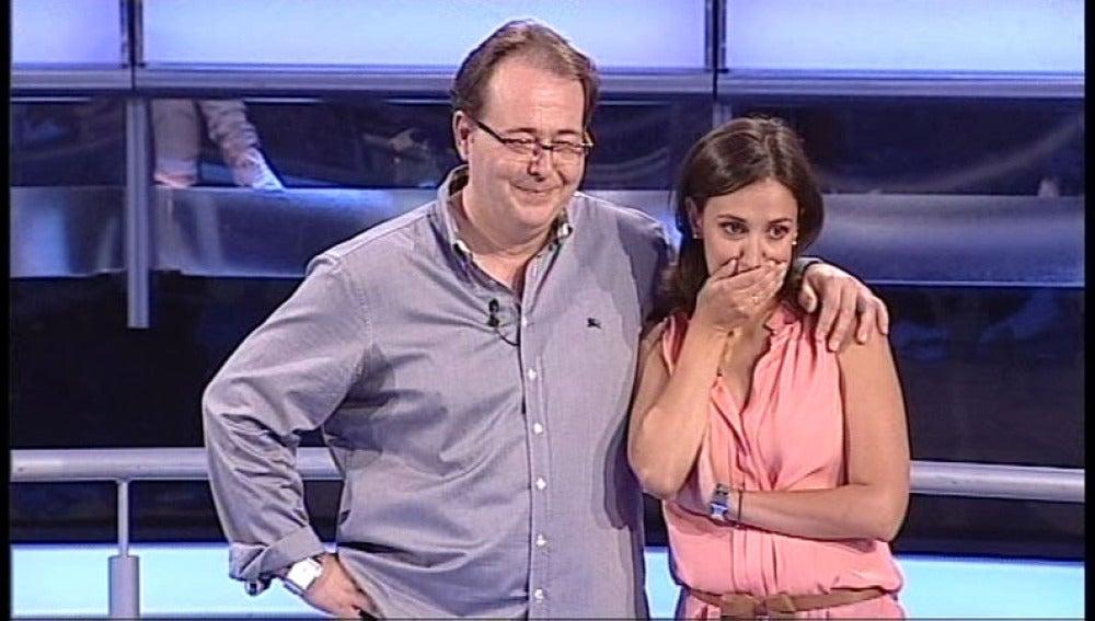María y José Luis llegan raspados a la última pregunta y se van a casa con 5.000€