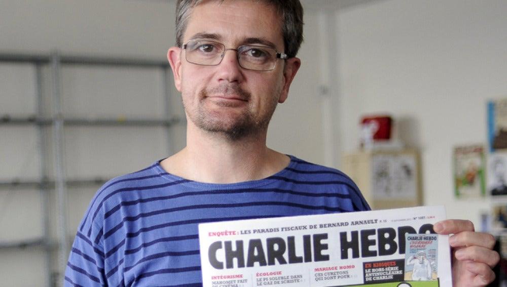 Charlie Hebdo, con la portada de su publicación