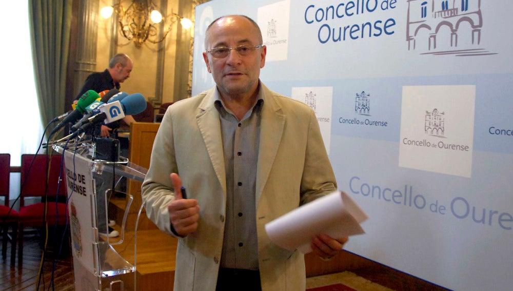Francisco Rodríguez, alcalde de Orense