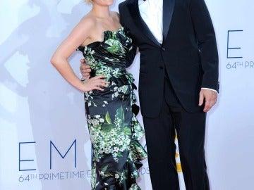 Elisabeth Moss y Jon Hamm