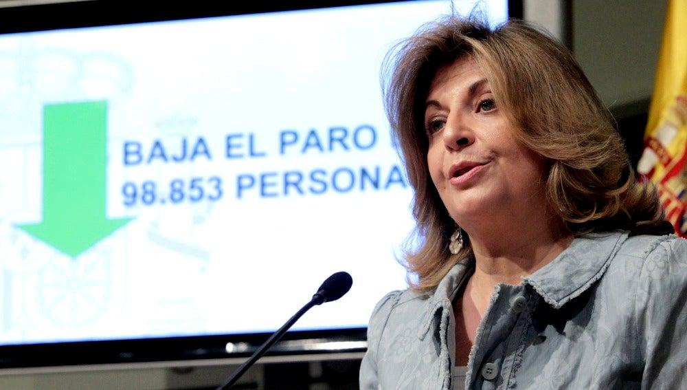 La secretaria de Estado de Empleo, Engracia Hidalgo.