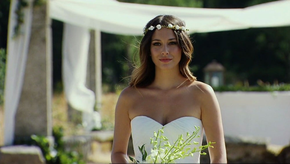 Ainhoa vestida de novia
