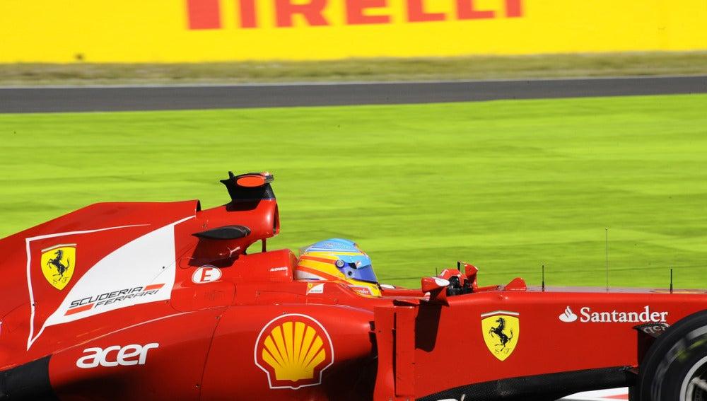 Alonso, de lado