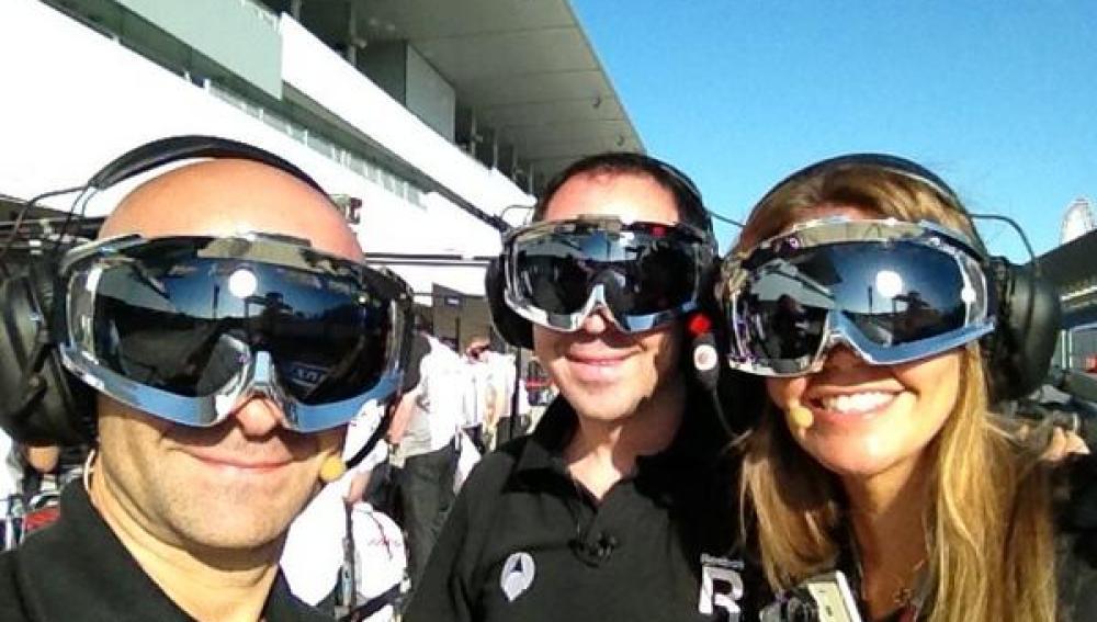 El pit stop de Antena 3 con McLaren en Suzuka
