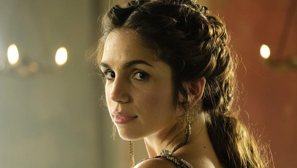 La actriz, Elena Furiase