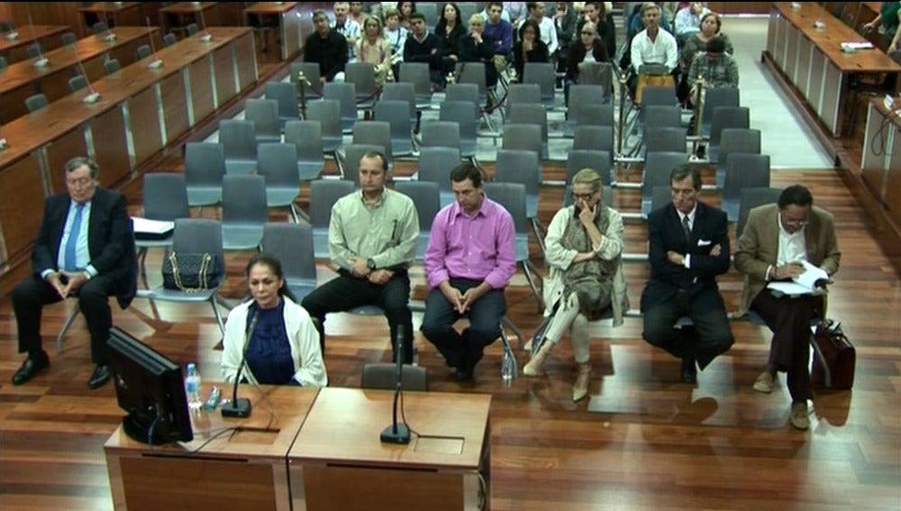 Isabel Pantoja en el juicio