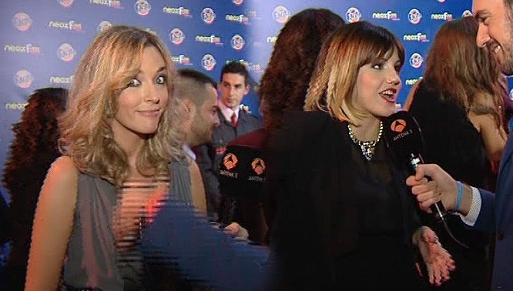 Anna Simon y Angy Fernández en los Neox Fan awards