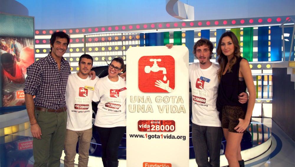 Jorge Fernández, Iván Massagué, Neus Sanz, Javier Hernández y Paloma