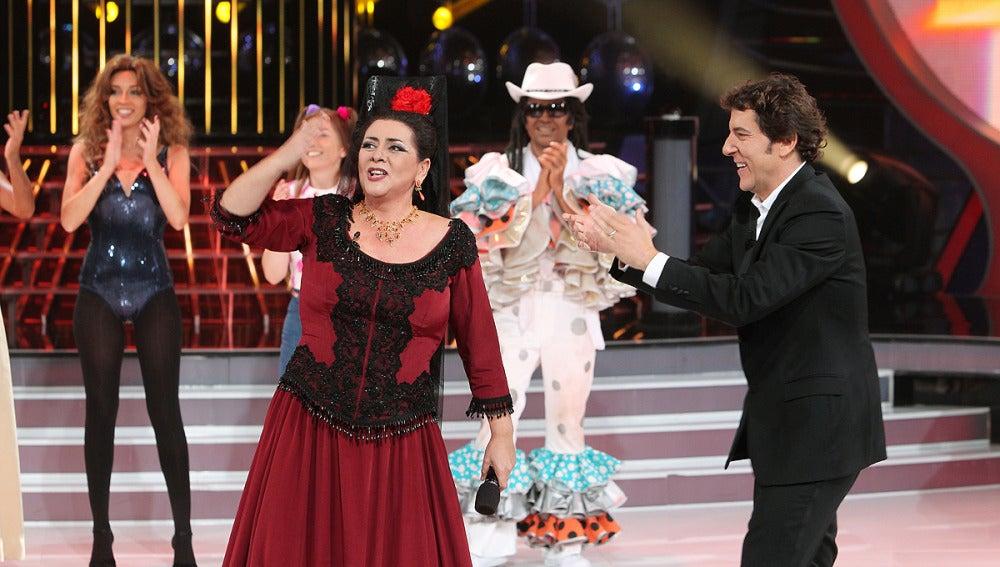 María del monte gana la Gala 10 de TCMS2