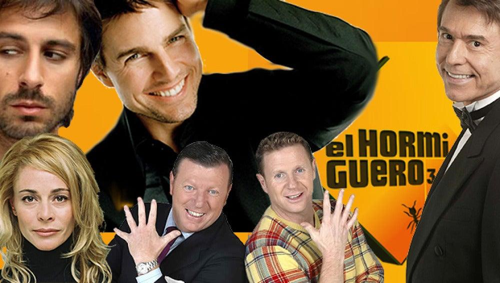 Belén Rueda, Hugo Silva, Raphael, los Morancos y Tom Cruise en 'El Hormigero 3.0'