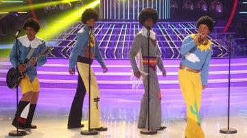 Auryn imita a los Jackson 5