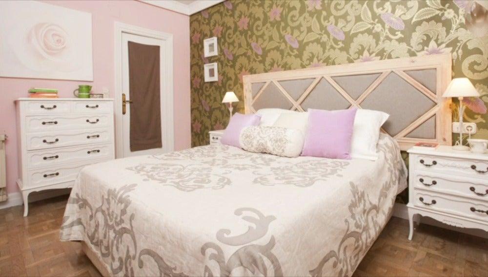 Un dormitorio muy romántico para Diana