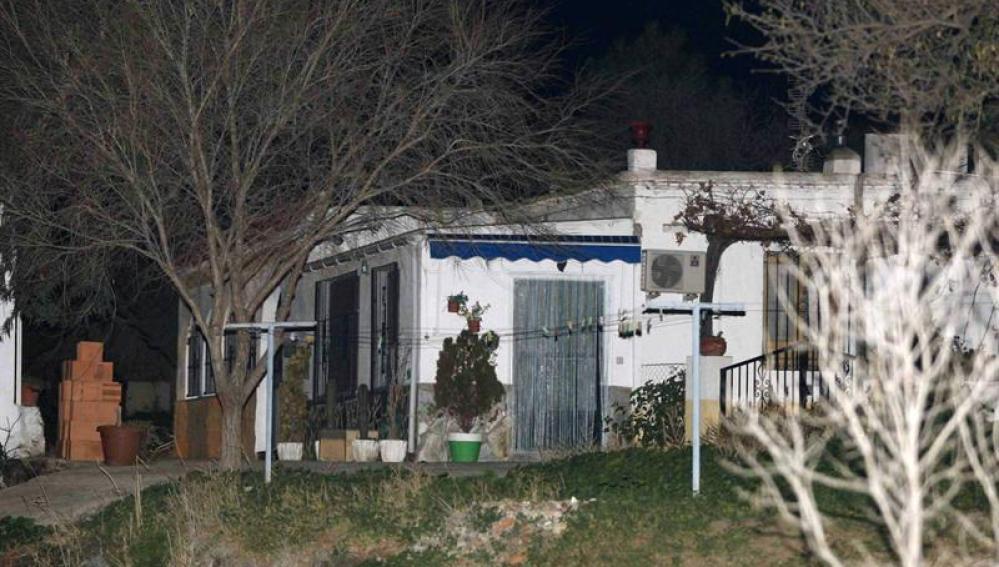 Vista del cortijo de Abrucena en el que ha sido detenido el supuesto secuestrador