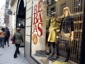 Rebajas de invierno en los comercios del centro de Valladolid