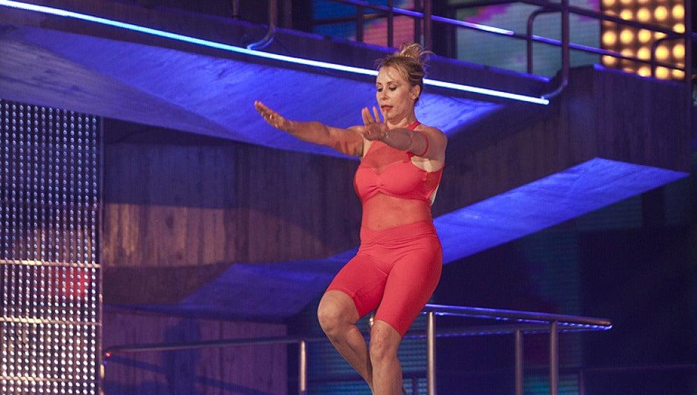 El salto de Miriam Díaz Aroca