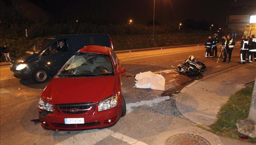 Accidente mortal en Vigo
