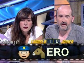 Memoticonos con Candela Peña y Javier Cámara