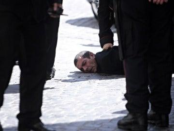 Un detenido por el tiroteo en el Parlamento de Roma