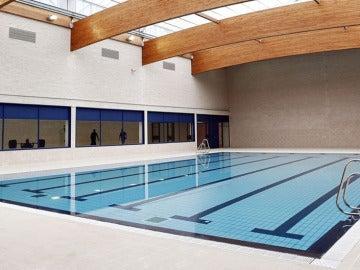 La piscina de la cárcel de Pamplona