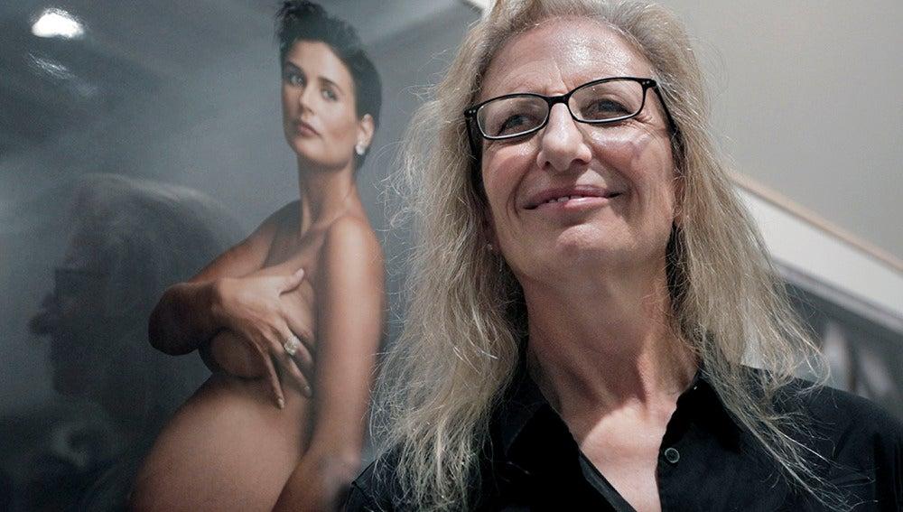 La fotógrafa estadounidense Annie Leibovitz.