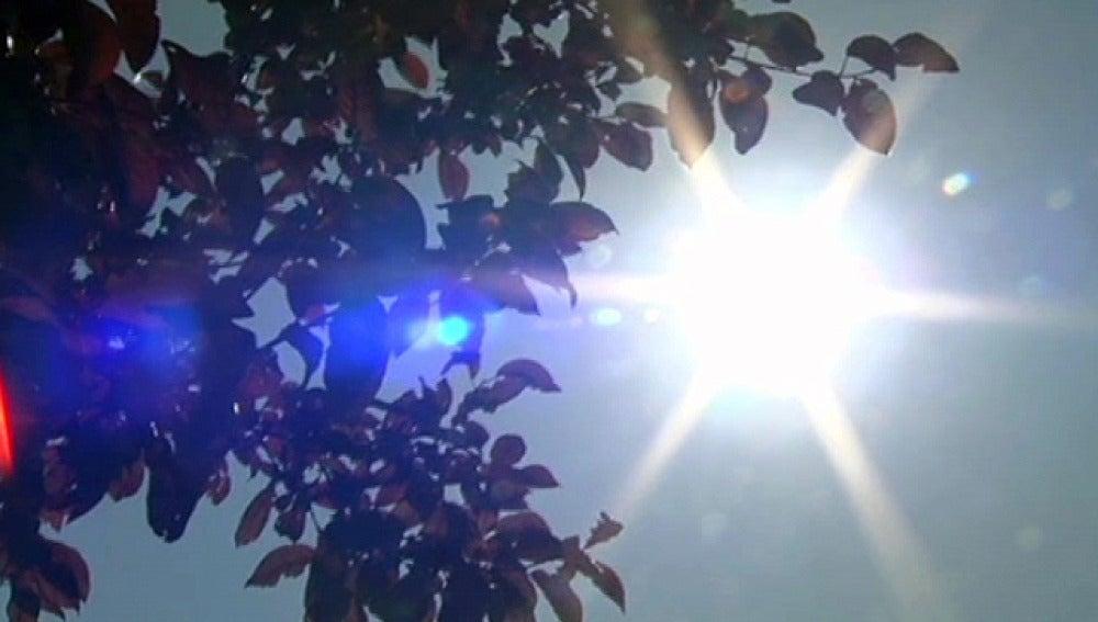 Sol en pleno verano