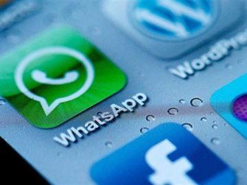Icono de Whatsapp en un móvil