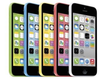 Los modelos del iPhone 5C